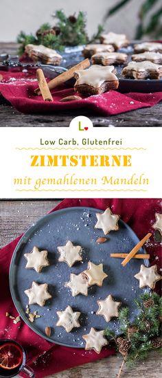Sternentraum! Winterliche Zimtsterne Plätzchen mit dem Lizza Teig, gemahlenen Mandeln und feiner Spekulatiusgewürz. Low Carb und glutenfrei! Du möchtest mehr Low Carb Rezepte? Dann schnupper doch mal durch unsere Rezepteseite : https://lizza.de/pages/rezepte   #lowcarb #glutenfree #glutenfrei #weihnachtsplätzchen #lizzateig #zimtsterne