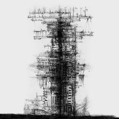 13 towers. on Behance