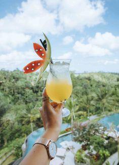 Cocktails at Padma Resort Ubud, One World Just Go