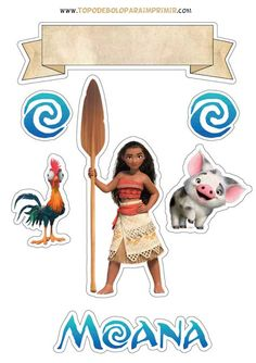 Moana Themed Party, Moana Birthday Party, Moana Party Decorations, Birthday Party Decorations, Digital Paper Free, Diy Wall Decor For Bedroom, Hawaiian Theme, Happy Birthday Cards, Princesa Moana