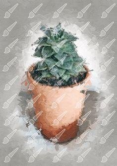 Fine digital artwork for your walls Test Card, Palette Knife, Succulents, Planter Pots, Artwork, Work Of Art, Auguste Rodin Artwork, Succulent Plants, Artworks