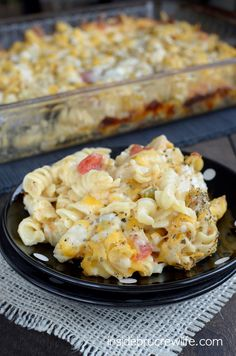 Chicken Supreme Pasta Bake - easy and very cheesy chicken and pasta dinner that everyone will love!!