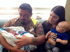 Daddy, Sage, Aunt Charity & Ethan