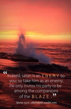 Satan Invites His Party To Accompany Him In The #Blaze #islam #moslem