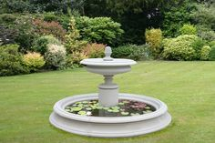 one of a kind fountains | Do you like lawn decorations? if so, what kind?
