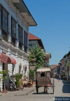 The capital of Ilocos Sur, Vigan.
