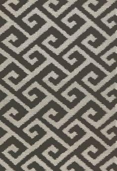 Yangtze Embroidery in Ebony, 67320. http://www.fschumacher.com/search/ProductDetail.aspx?sku=67320 #Schumacher
