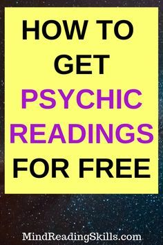 free psychic reading online no credit card
