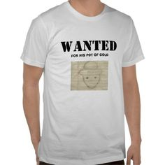 """Fugitive Tips Off Own Arrest with """"Wanted"""" Shirt 