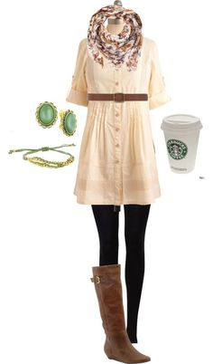 Image result for how to dress when you going to starbucks