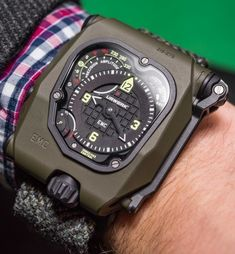 Urwerk EMC Time Hunter Watch Hands-On Hands-On