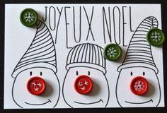 carte de noel faite maison 23 vie www.cartefaitmain.eu #carte #diy Plus
