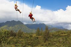 Westin Princeville Zip Lining #swdreamhawaii