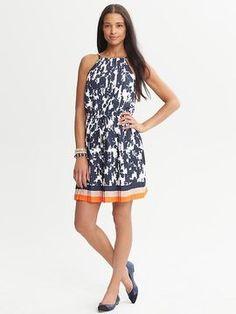 1071f89f3a1 Banana Republic Eliza Pleated Halter Dress - ShopStyle Day