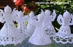 U Kathryn : Szydełkowe anioły /Crochet angels