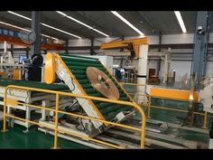 Steel coil packing line/sliting strip packaging system Packing Machine, Line, Packaging, Steel, Fishing Line, Wrapping, Steel Grades, Iron