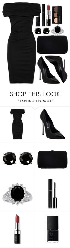 """Untitled #3464"" by natalyasidunova ❤ liked on Polyvore featuring Donna Karan, Casadei, Coast, Sergio Rossi, Chanel, Bobbi Brown Cosmetics, NARS Cosmetics and Smashbox"