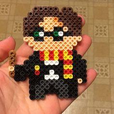 Harry Potter perler beads by mellamoann