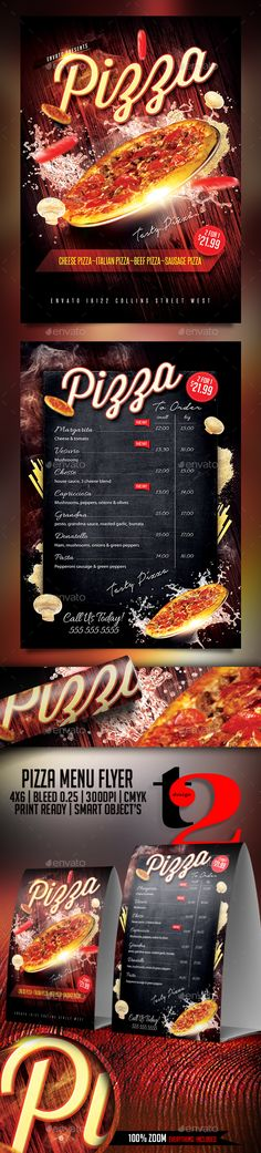 Burger House Menu | Flyer Template, Burgers And Menu