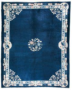 Cod. 7127 Pechino antico 351x288 tappeto cinese antique rug