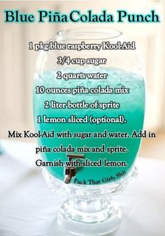 Trendy Baby Shower Food Ideas Recipes Gender Reveal 30 Ideas - Everythink for Babyshower Summer Drinks, Cocktail Drinks, Fun Drinks, Alcoholic Drinks, Cocktails, Summer Desserts, Party Drinks, Fruit Party, Champagne Cocktail
