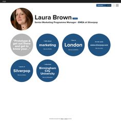 Graphical bio: Laura Brown
