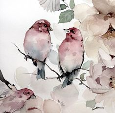 We heart it creative inspiration, journal inspiration, watercolour tutorial Watercolor Landscape, Abstract Watercolor, Watercolor Illustration, Watercolour Painting, Watercolor Flowers, Painting & Drawing, Simple Watercolor, Tattoo Watercolor, Watercolor Animals