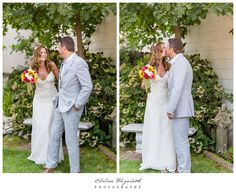 Little Brown Church Wedding, first glance. by Chelsea Elizabeth Photography
