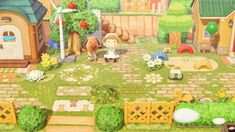 Animal Crossing Guide, Happy Home Designer, White Lilies, New Leaf, Outdoor Areas, Whimsical, Geek Stuff, Design Inspiration, Island