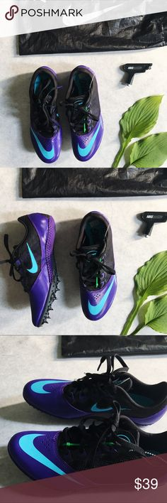 NEW Nike Rival S Racing Cleats Sneakers size 7 👟 NEW Nike Rival S Racing Spikes Sneakers size 7 👟 Women's Nike Rival S racing cleats for ultimate performance will have you getting to the finish line in perfect style.   * Brand new, never worn  * Strong and durable  * All items pictured are included   * Bag and spike tool included   I am 🙊 ⭐️⭐️⭐️⭐️⭐️ 5-Star rated plus & Ship in 48hrs or Less 📦! Thanks for taking a look, most reasonable offers accepted. Nike Shoes Athletic Shoes