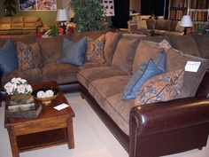 Stanton Showroom - A fabulous sectional we think will sell well.