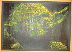 Star Wars - Great Warrior silkscreen print by Todd Slater/Mondo
