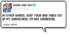 Possibly my favorite Gerard Way tweet to date. <3