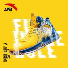 fdabe688da3780 Anta KT2 Klay Thompson - BLAZING 3 · Basketball Shoes CompetitionSoleBannerPhotographShoes ...