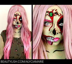 pop art makeup - Buscar con Google