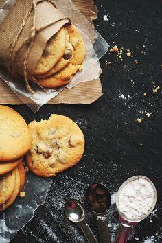 Chocolate chip cookies by Melanie DeFazio