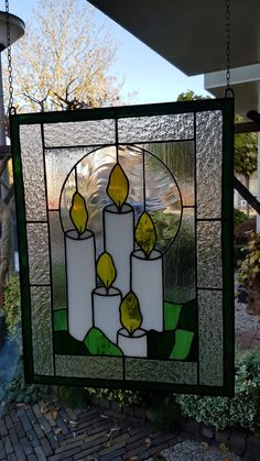 Stained Glass Quilt, Stained Glass Designs, Stained Glass Projects, Stained Glass Patterns, Stained Glass Windows, Black Santa, Stained Glass Christmas, Christmas Candles, Glass Blocks