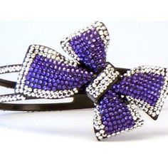 Bling Bling! Flower Headband with Purple & Silver Rhinestones. Perfect for Women, Teens & Girls, Bling Bling Hair Accessory