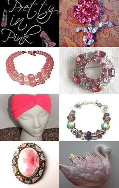 Pretty In Pink by D on Etsy--Pinned with TreasuryPin.com