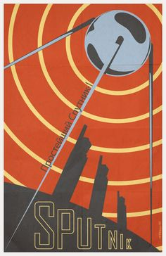 Sputnik was a satellite launched by the Soviet Union that America was in awe of