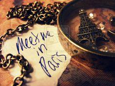 Meet Me in Paris..? ;)