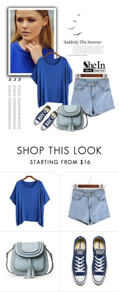 """""""SheIn 6/I"""" by nermina-okanovic ❤ liked on Polyvore featuring Converse"""