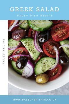 Greek Salad  #Paleo #food #recipe #keto #diet
