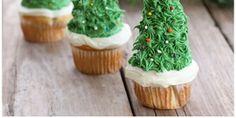 The Perfect DIY Edible Christmas Tree With Cupcake