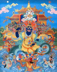 Resultado de imagem para naga tibetan