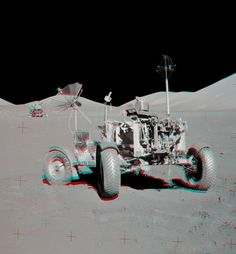 Apollo 17 VIP Site Anaglyph