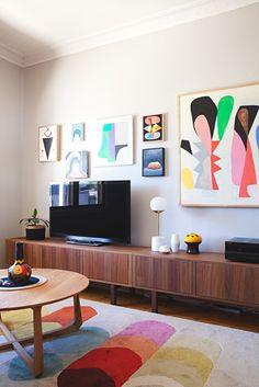 House Tour: A Gorgeous, Graphic Australian Home | Apartment Therapy