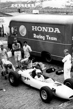 Ginther 1965 Holland - Honda RA272 -