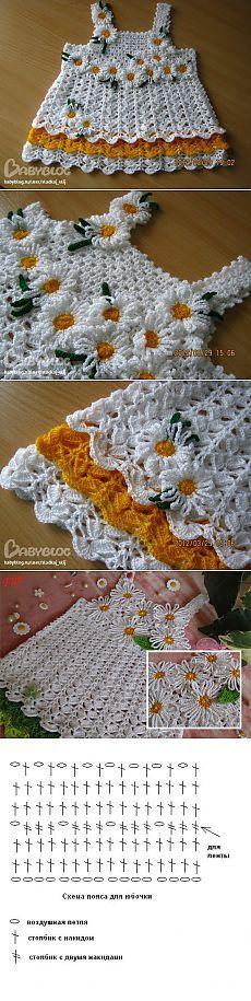 36 ideas for baby dress crochet children Crochet Toddler, Baby Girl Crochet, Crochet Baby Clothes, Crochet For Kids, Crochet Children, Crochet Dresses, Crochet Crafts, Yarn Crafts, Crochet Projects