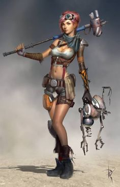 The Character, Concept, and Game Art of Paul Hyun Woo Kwon | Psdtuts+